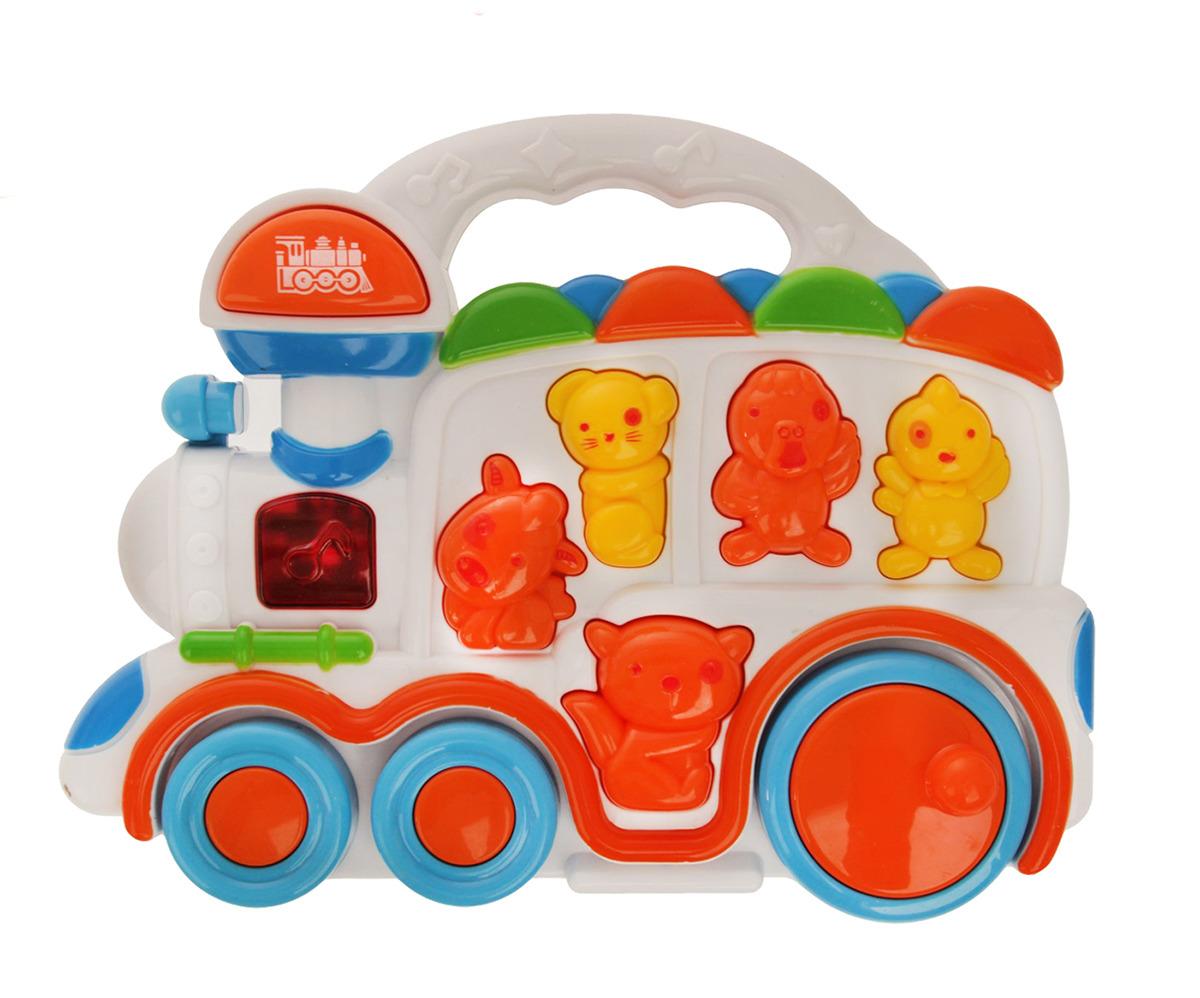 Развивающая игрушка Micio Веселый поезд 2076661 tomy развивающая игрушка веселый страус