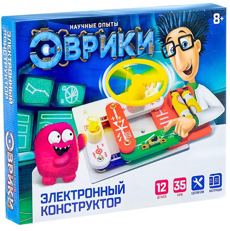 Электромеханический конструктор Эврики 1200829