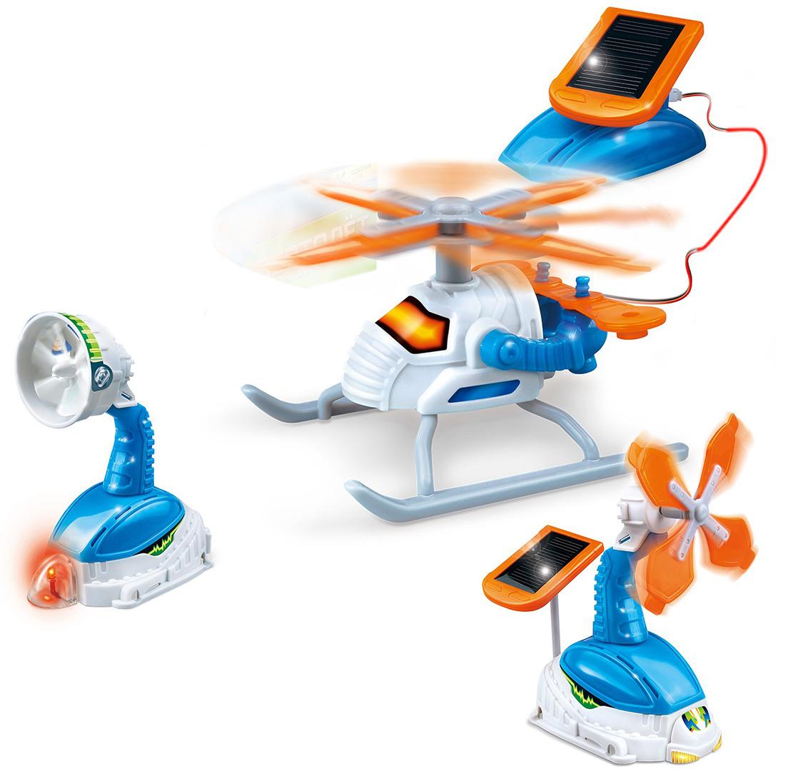 Электромеханический конструктор Эврики Вертолет 3550076 игра эврики пылесос конструктор 2463887