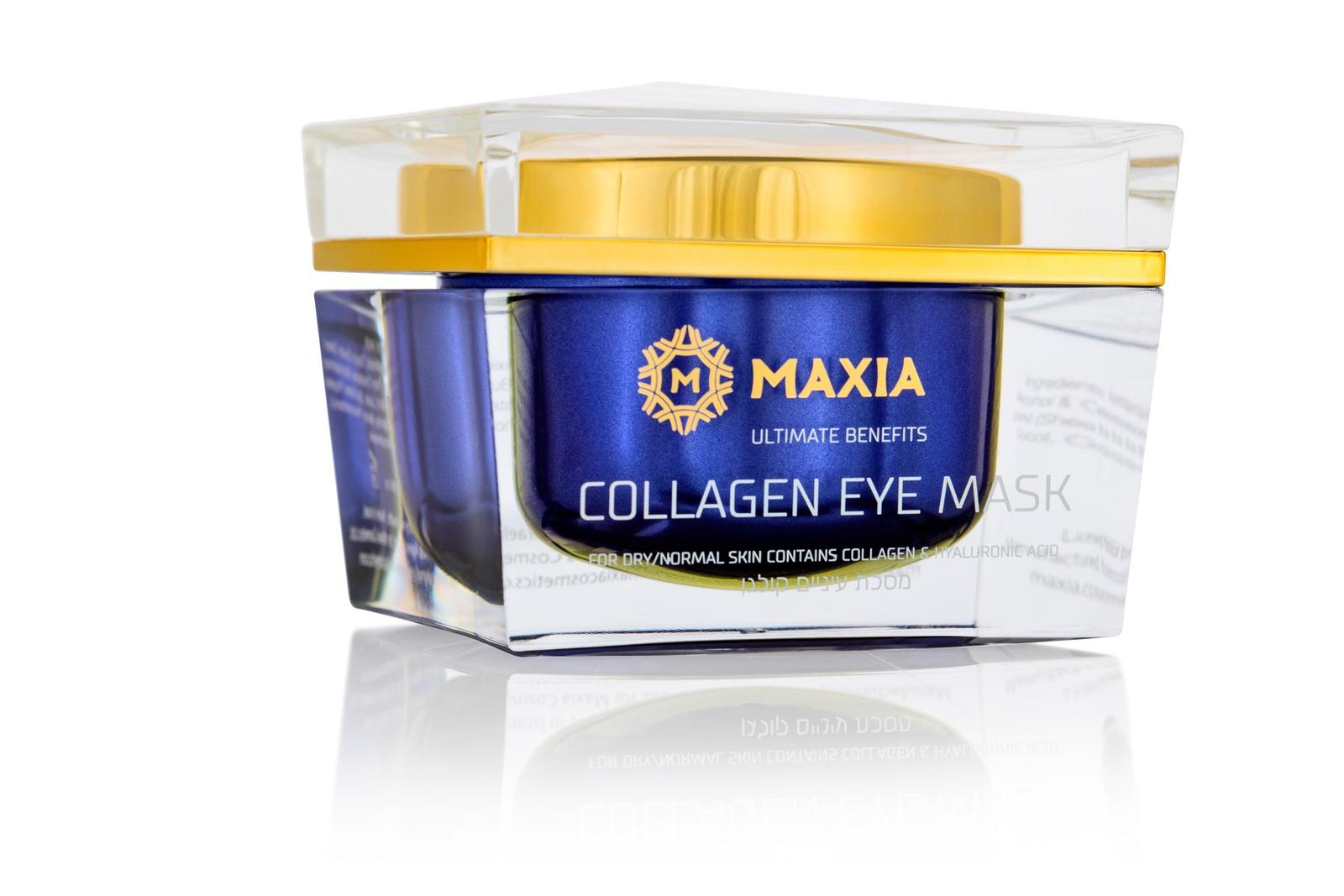 Маска косметическая MAXIA Коллагеновая маска для глаз 50 мл