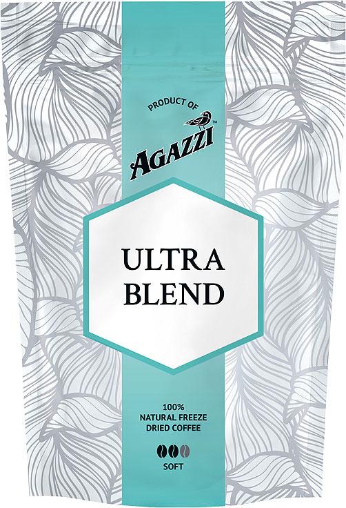Кофе растворимый Agazzi Ultra Blend Soft, сублимированый, 95 г lavazza prontissimo classico кофе растворимый 95 г