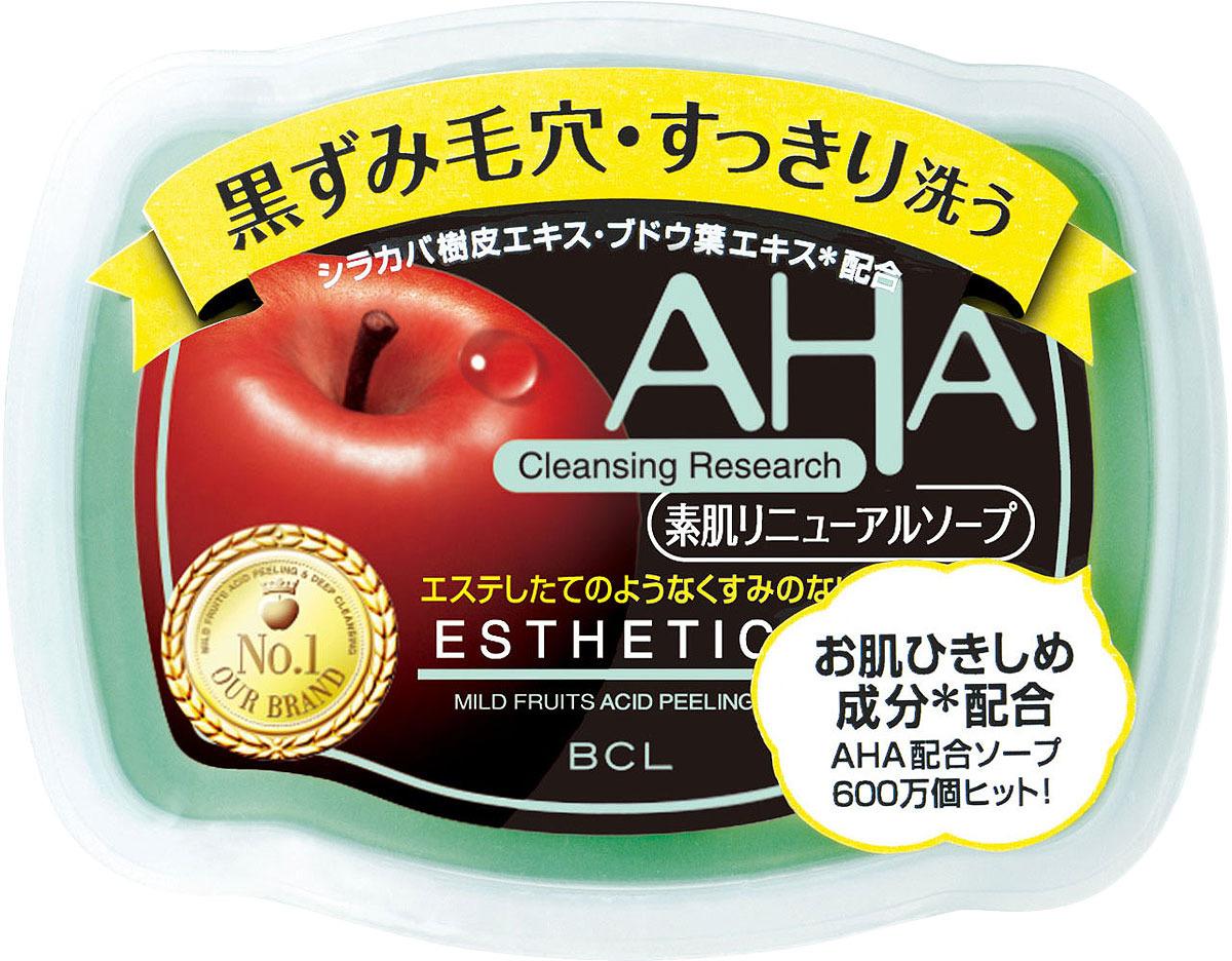Мыло-пилинг для лица AHA Basic сужающее поры c фруктовыми кислотами, 100 г