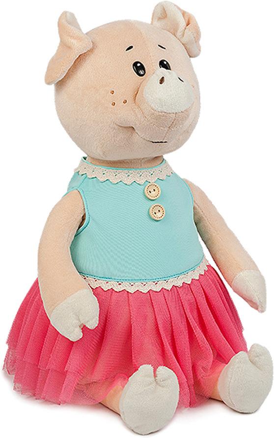 Мягкая игрушка Maxitoys Luxury Свинка Даша в ярком платье, MT-MRT031806-21 мягкие игрушки maxitoys собачка зиночка в платье