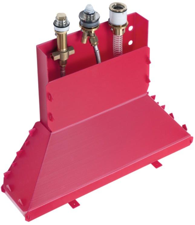 Скрытая часть для смесителя на 3 отверстия Hansgrohe 13437180 цена