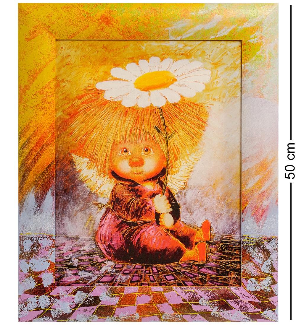 Фото - ANG- 79 Жикле в раме ''Ангел надежды и веры'' 30х40 ang 79 жикле в раме ангел надежды и веры 30х40