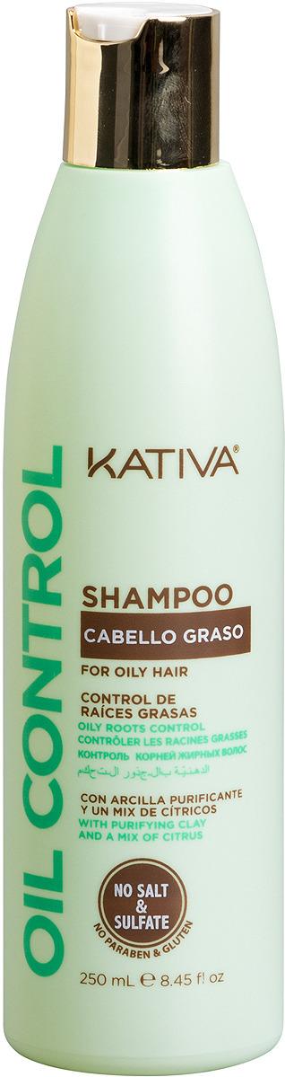 """Шампунь Kativa """"Oil Control. Контроль"""" для жирных волос, 250 мл"""