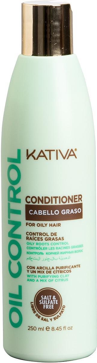 """Кондиционер Kativa """"Oil Control. Контроль"""" для жирных волос, 250 мл"""