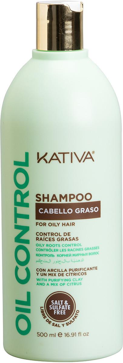 """Шампунь Kativa """"Oil Control. Контроль"""" для жирных волос, 500 мл"""
