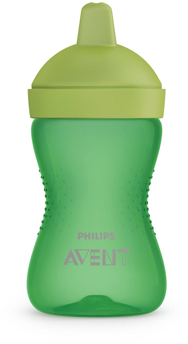 Поильник с твердым носиком Philips Avent SCF804/03, зеленый, от 18 месяцев, 300 мл