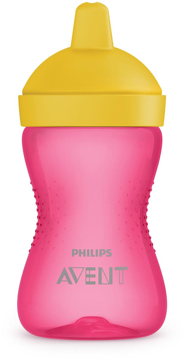 Поильник с твердым носиком Philips Avent SCF804/04, розовый, от 18 месяцев, 300 мл