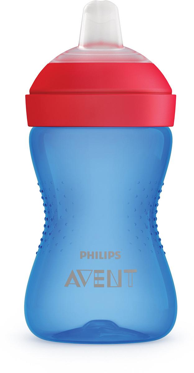 Поильник с мягким носиком Philips Avent SCF802/01, синий, от 9 месяцев, 300 мл