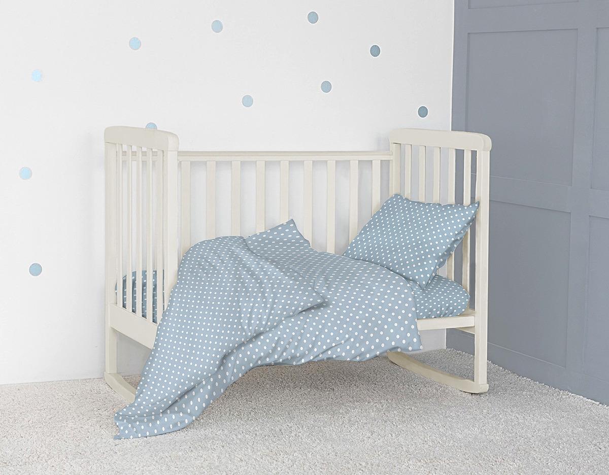 Комплект постельного белья детский Bonne Fee ОДР-110х140/4, голубой комплект постельного белья детский bonne fee опдр 110х140 3 розовый
