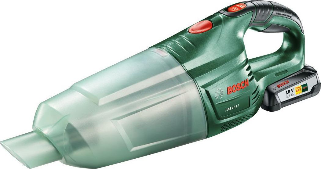Аккумуляторный пылесос Bosch PAS 18 LI Set. 06033B9002 пылесос аккумуляторный bosch pas 18 li set