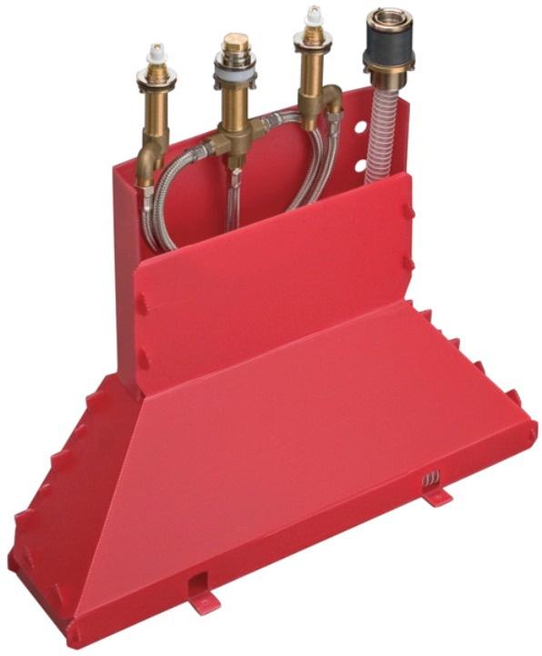 Скрытая часть смесителя на край ванны Hansgrohe Axor Massaud 13444180 цена