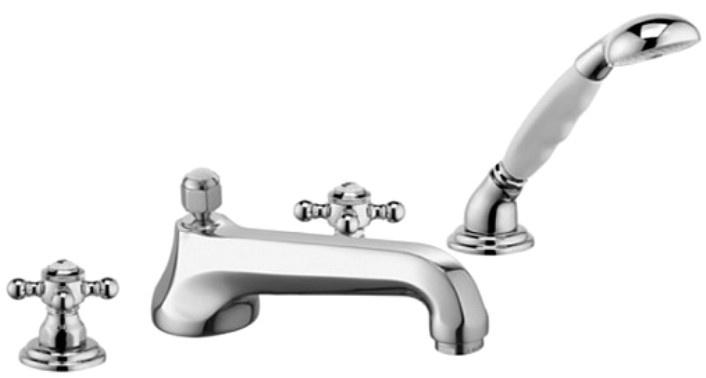 Смеситель для ванны с душевым набором Kludi Adlon 515250520 цены