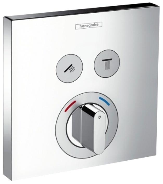 Смеситель для душа Hansgrohe ShowerSelect 15768000 hansgrohe showerselect s 15744000 для душа