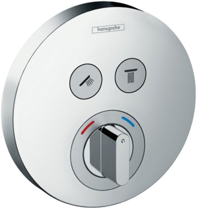 Смеситель для душа Hansgrohe ShowerSelect S 15748000 hansgrohe showerselect s 15744000 для душа