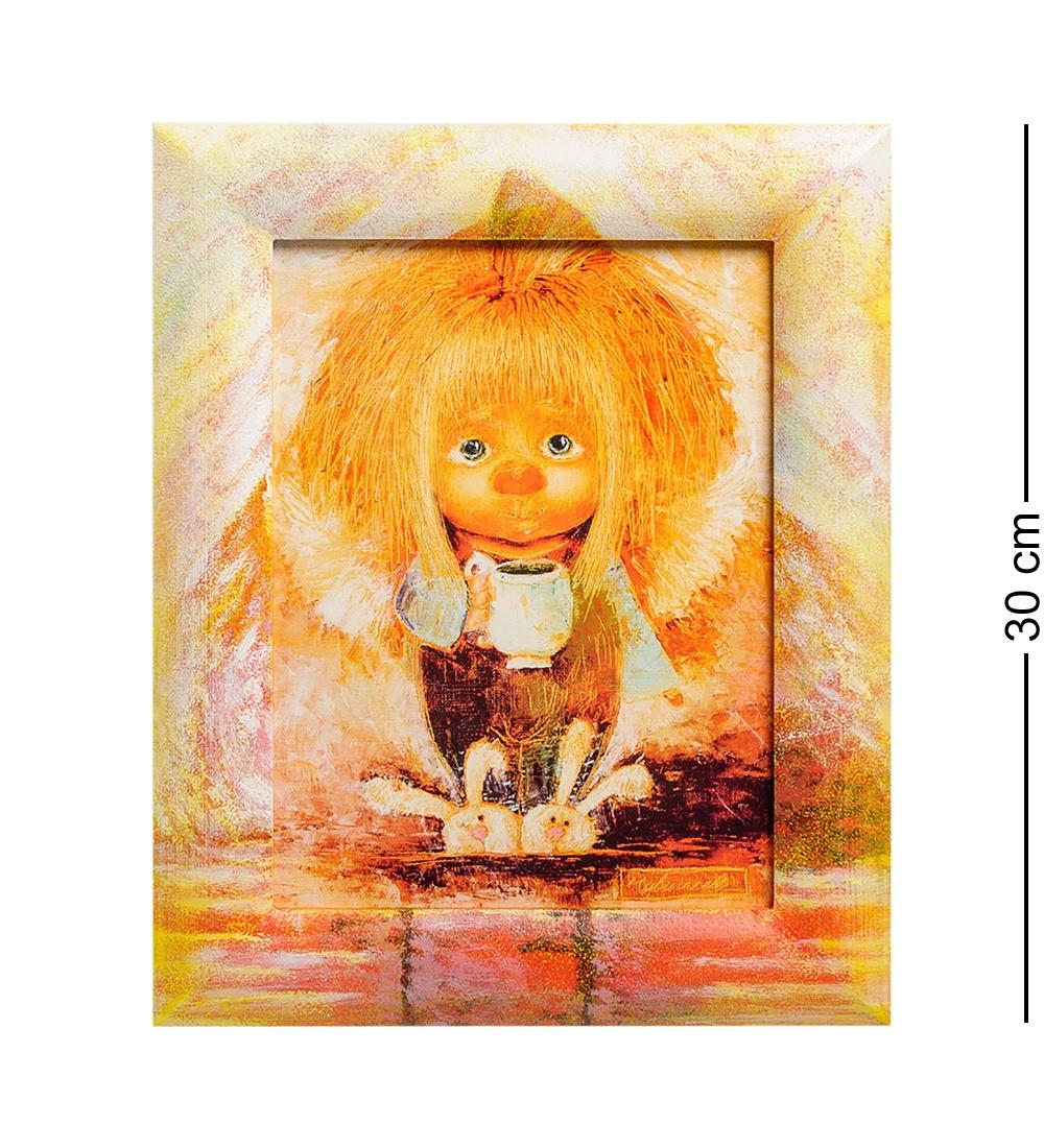 ANG-252 Жикле в раме ''Ангел теплого дома'' 18х24 блокноты artangels блокнот ангелы хранители дома 12х17