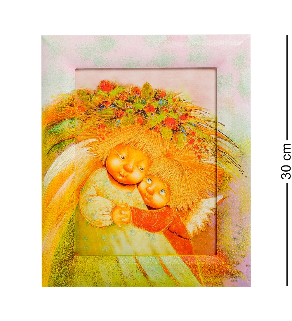 цена на ANG-250 Жикле в раме ''Мамино сердце'' 18х24