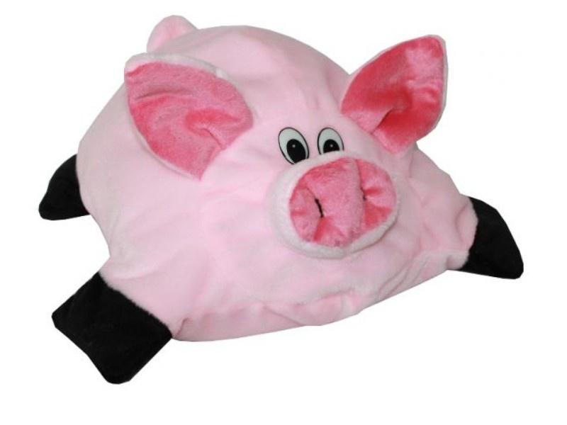 Подушка-игрушка Аймид Хрюшка-Подушка 387, розовый