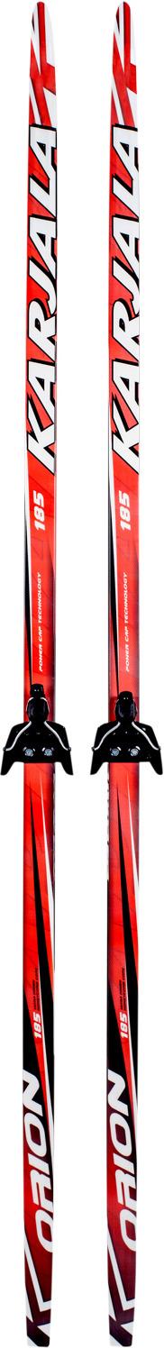 Беговые лыжи Karjala Orion 42285 с креплением 75 мм, рост 195 см беговые лыжи karjala snowstar 3913 с креплением 75 мм желтый рост 110 см