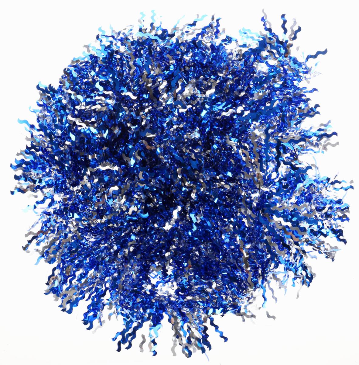 Мишура новогодняя Magic Time, цвет: синий микс, 9 х 200 см. 76722 цены онлайн