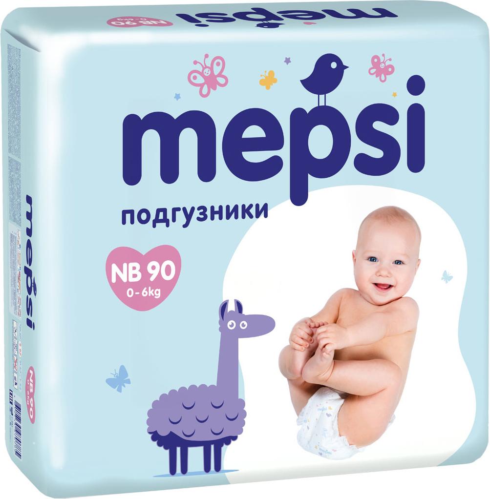 <b>Mepsi Подгузники NB</b> 0-6 кг 90 шт — купить в интернет-магазине ...