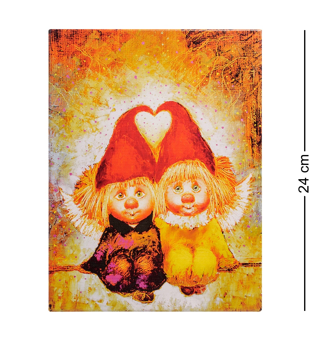 ANG-239 Жикле ''Ангелы вечной любви'' 18х24 ang 239 жикле ангелы вечной любви 18х24