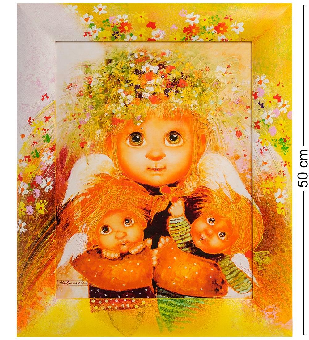 ANG-285 Жикле в раме ''Материнская любовь'' 30х40 сергей зверев фоторобот в золоченой раме