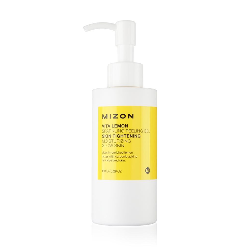 Пилинг-скатка с лимонным экстрактом Mizon Vita lemon sparkling peeling gel, 150 мл