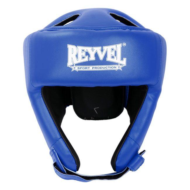 "Шлем боксерский Reyvel ""Винил 2"", SHRY002-BLL, синий, размер L"