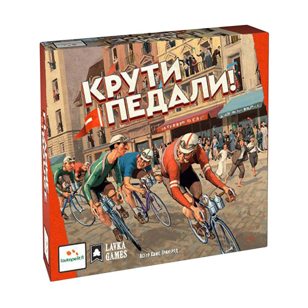 Lavka Games Настольная игра Крути педали! цена и фото