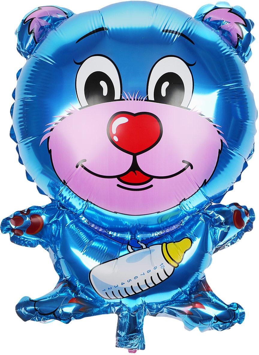 Sima-land Воздушный шарик Мишка с соской 18 цвет цена