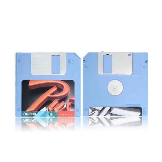 Внешний аккумулятор Remax Disk 5000 mAh Синий remax аккумулятор remax disk 5000 мач голубой портативный