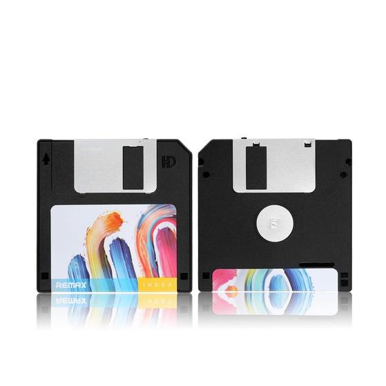 Внешний аккумулятор Remax Disk 5000 mAh Черный remax аккумулятор remax disk 5000 мач голубой портативный