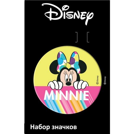 Набор значков Disney Значок Дисней/Марвел Минни 3 цена