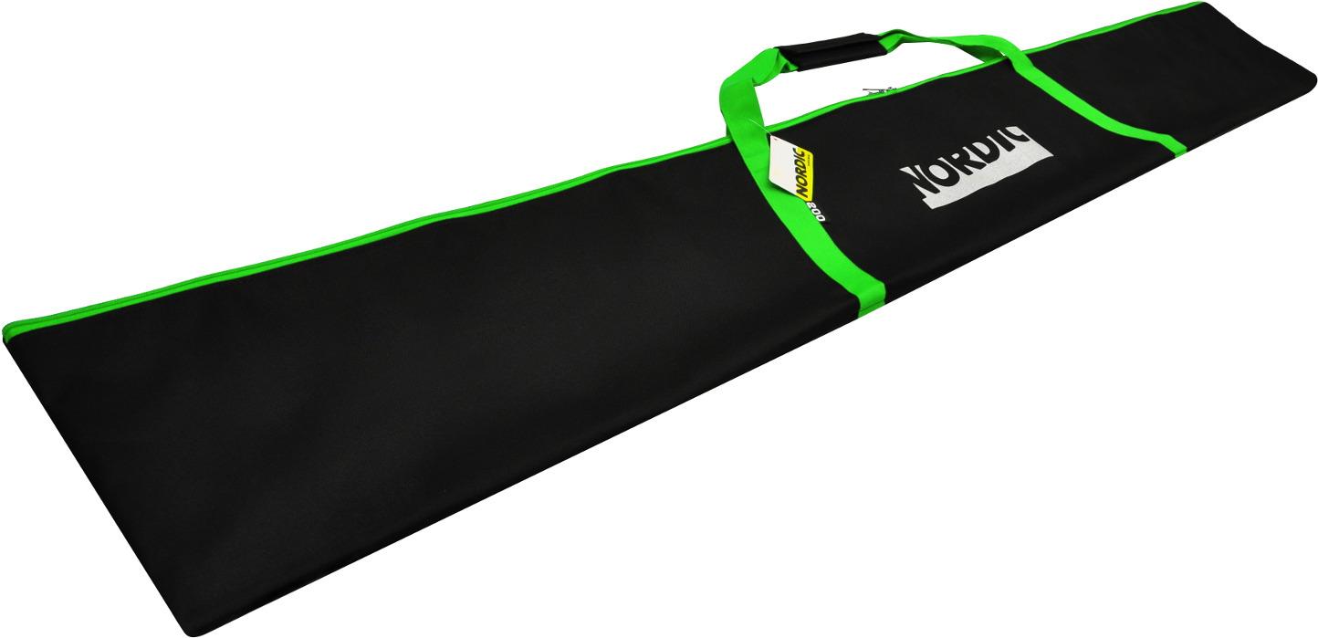 Чехол для беговых лыж Nordic, цвет: зеленый, 200 см