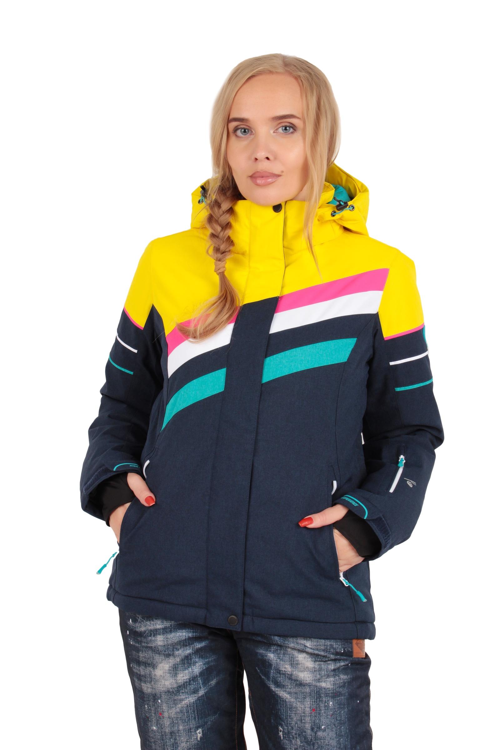 Куртка High ExperienceКуртка 8252/желтый,синий MУниверсальная куртка будет актуальна для повседневной носки и занятий зимними видами спорта. Характеристик изделия: вентиляция, высокая степень ветрозащиты, влагонепроницаемость. Модель идеальна для занятий зимними видами спорта и активными прогулками на свежем воздухе. Характеристики мембраны: водонепроницаемость - 15000мм, паропроницаемость - 15000г/м2/24ч. Утеплитель синтетический био-пух.