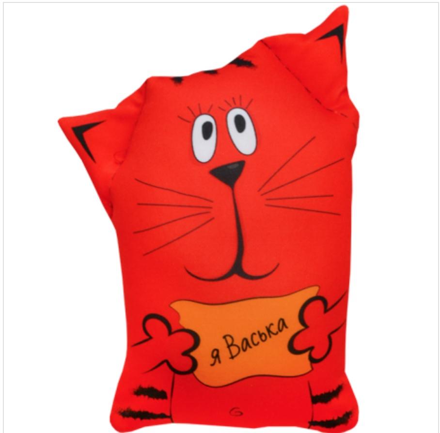 Мягкая игрушка Кот Обормот Оранжевый Кот мягкая игрушка кот обормот оранжевый кот