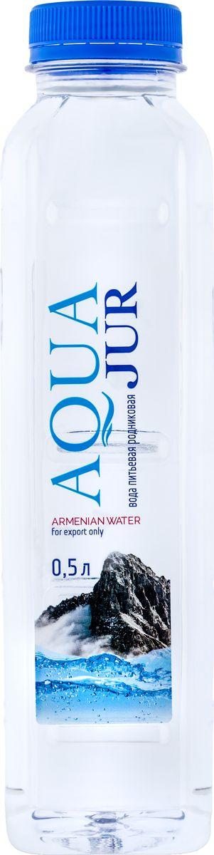 Вода питьевая родниковая Aqua Jur, 12 шт по 500 мл наушники беспроводные с микрофоном jbl e25bt white