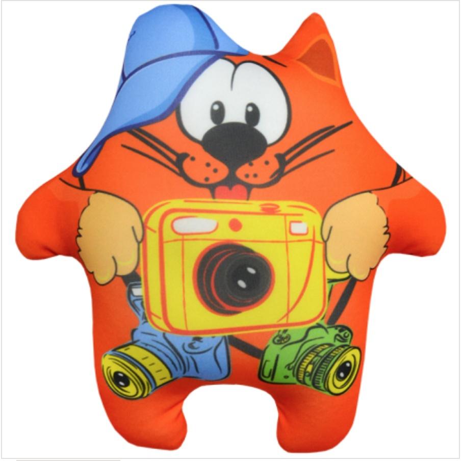 Мягкая Игрушка Кот Профи 03 Оранжевый Кот