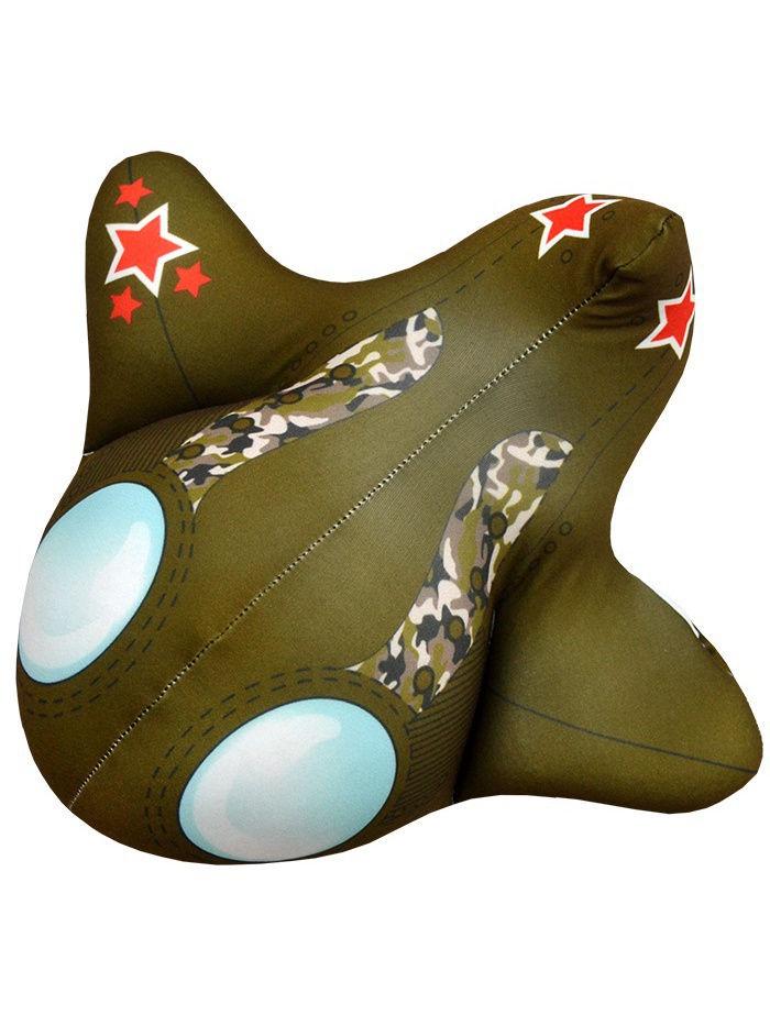 Мягкая Игрушка Самолет 01 Оранжевый Кот