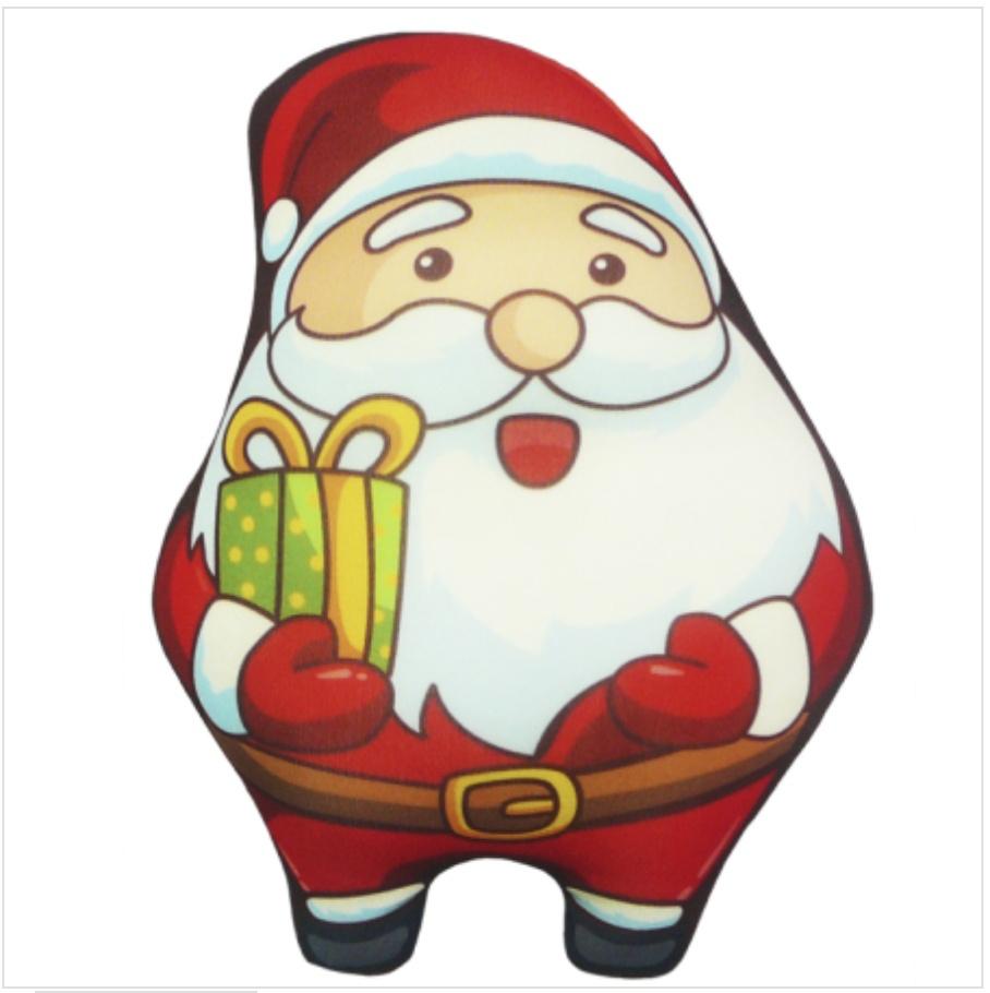 Мягкая Игрушка Дед Мороз 02 Оранжевый Кот