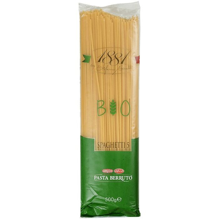 Макаронные изделия Berruto 1881 Spaghetti BIO, 500 г