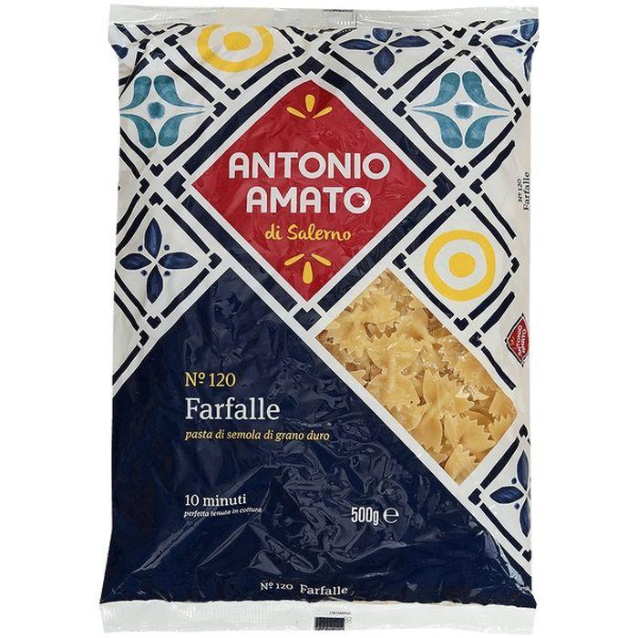 Макаронные изделия Antonio Amato FARFALLE (бантики), 500 г