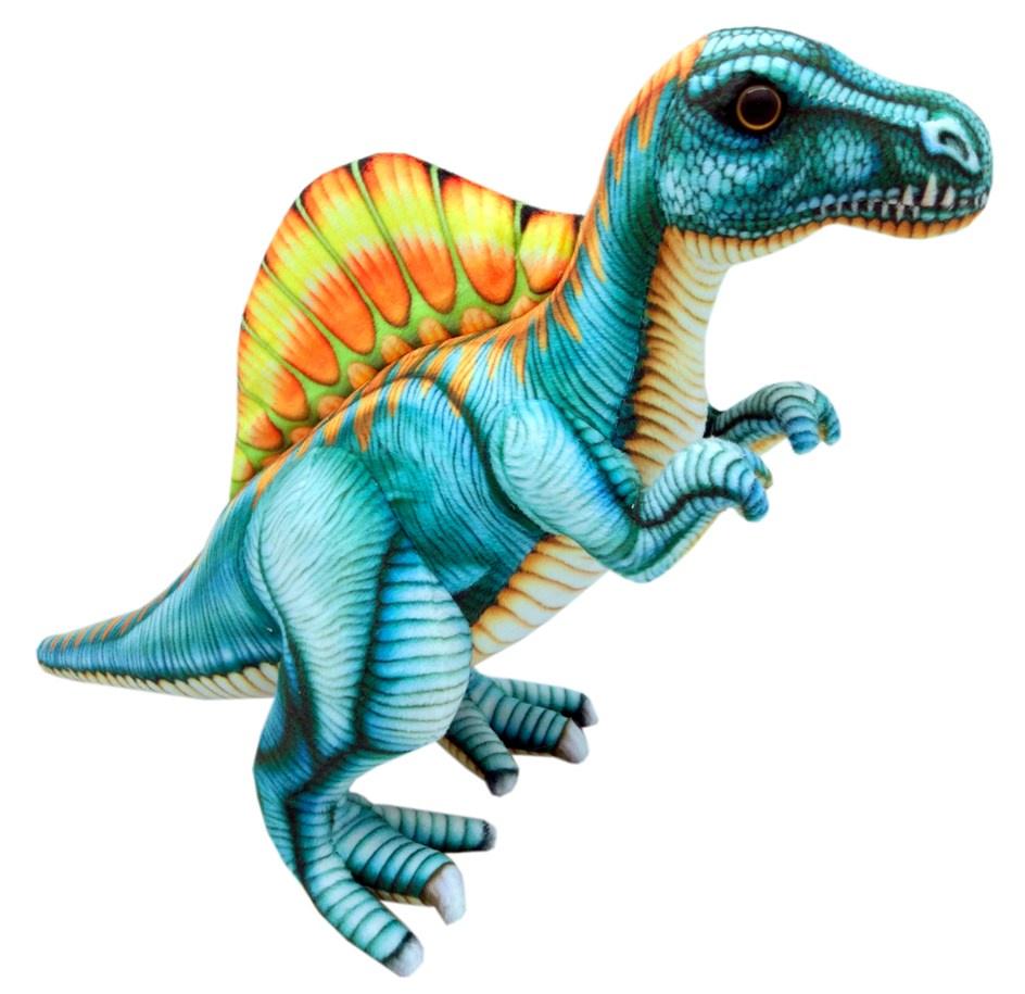 Мягкая игрушка АБВГДЕЙКА Динозавр Спинозавр
