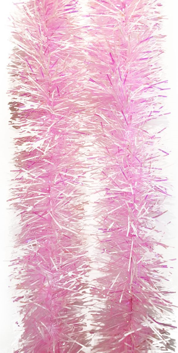 Мишура новогодняя Magic Time, цвет: розовый, 6 х 200 см. 78806 мишура новогодняя magic time цвет пурпурно розовый 9 х 200 см 78808