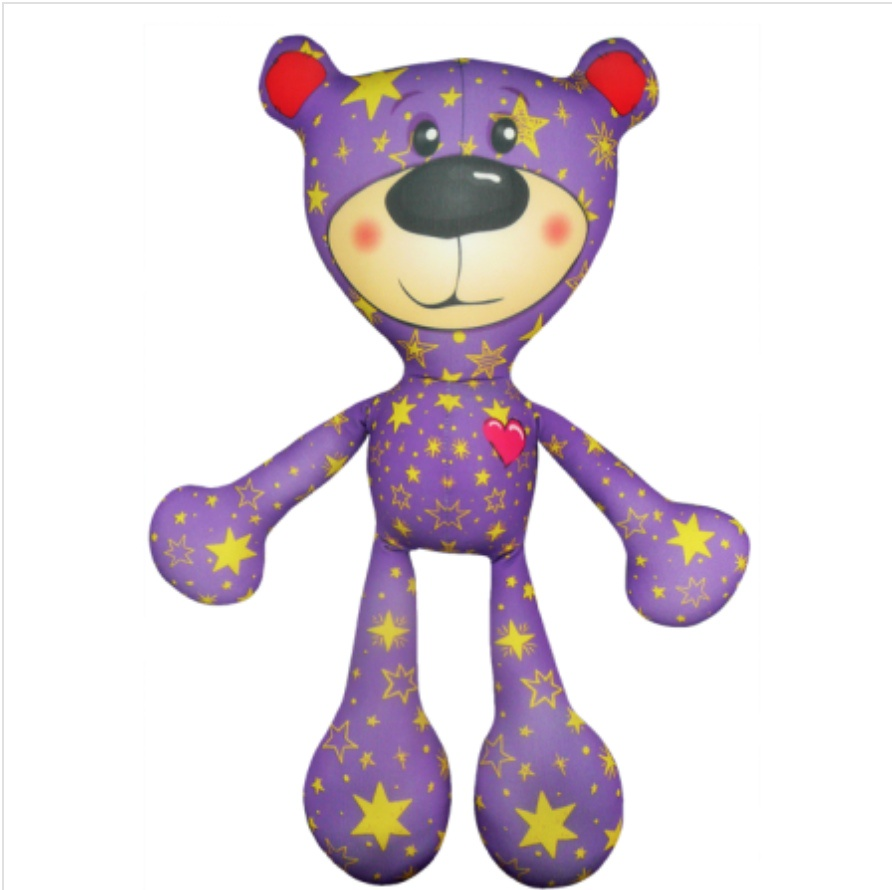 Мягкая игрушка Медведь Тедди 01 Оранжевый Кот цена