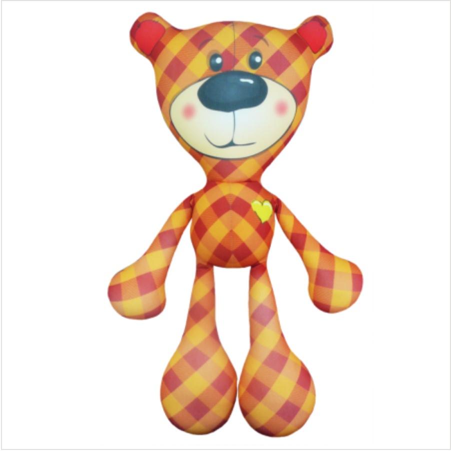 Мягкая игрушка Медведь Тедди 03 Оранжевый Кот цена