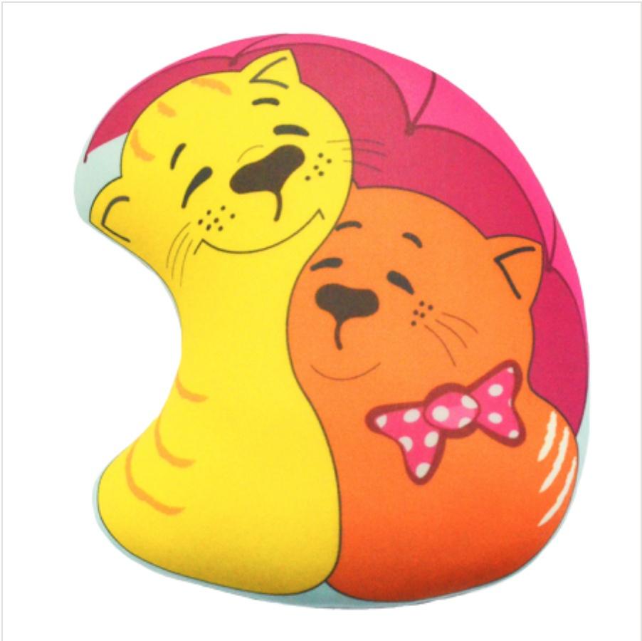 Мягкая игрушка Подушка Зонтик 01 Оранжевый Кот
